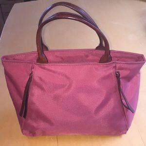 Small nylon hand bag